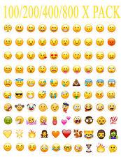 800 Whatsapp iPhone Laptop Emoji Emoticon Smiley Face Stickers Genuine