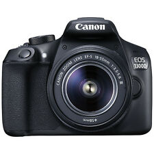 Canon EOS 1300D Digital SLR HD 1080P 18MP Camera with 18-55mm Lens (ML1552)