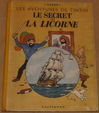 TINTIN -11- / Le secret de la Licorne / A23 1944  / BE