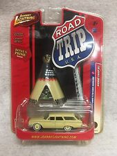 2007 JOHNNY LIGHTNING ROAD TRIP U.S.A #1 1960 FORD STATION WAGON 1:64 #52816I