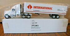 1/64 Ertl International Navistar Semi Truck Tractor Toy Springfield Plant #9055