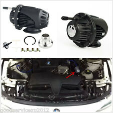 Black Aluminum Adjustable Car Styling Blow Off Valve BOV Turbo Protection System