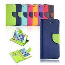 Flip Leather Wallet Case Card Slot Soft Gel Shockproof Cover For iPhone 8 7 Plus