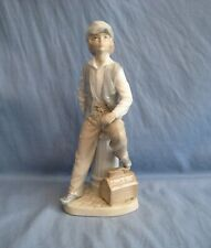 LLADRO NAO SHOESHINE BOY - LARGE FIGURE - PERFECT CONDITION