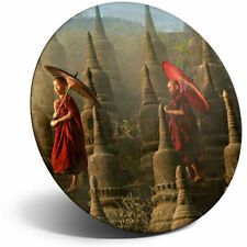 Awesome Fridge Magnet - Traditional Buddhist Monk Cool Gift #3146