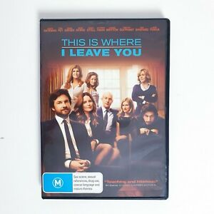 This is Where I Leave You Movie DVD Region 4 AUS Free Postage - Drama