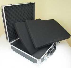 CT-105 DJ Zubehör Transport Koffer 48 x 41 x 14 cm FOAM Universal Mikrofon Case