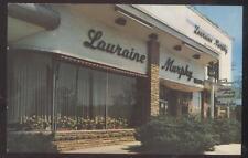 POSTCARD MANHASSET NY/NEW YORK LAURAINE MURPHY RESTAURANT EXTERIOR 1950'S