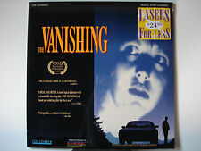 Vanishing, The 1988 Foreign French/Dutch Laser Disc NEW Bernard-Pierre Donnadieu
