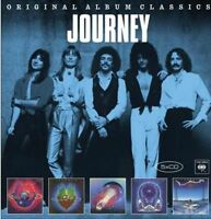 JOURNEY Original 5CD NEW Infinity/Evolution/Escape/Frontiers/Raised On Radio