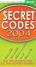 Secret Codes 2004 by Bradygames (2004, Paperback)