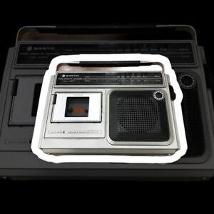 Sanyo M2560FZ Radio Cassette Player Defekt/ Ersatzteil Retro Vintage