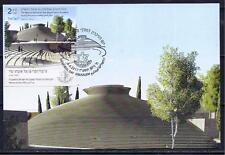 ISRAEL 2017 STAMPS NATIONAL MEMORIAL HALL DAY MOUNT HERZL JERUSALEM MAXIMUM CARD