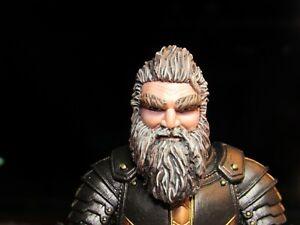 HEAD ONLY Mythic Legion Four Horsemen Custom Painted Dwarf