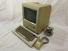 Complete Vintage Apple Macintosh Plus Desktop Computer - M0001A