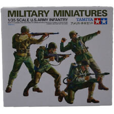 Tamiya US Army Infantry Figures Model Set (Scale 1:35) 35013 NEW