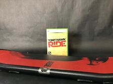 XBOX 360 Tony Hawk ride bundle microsoft arcade video game red board fun family