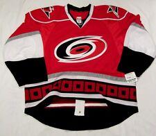 CAROLINA HURRICANES - size 58+ - Reebok EDGE Authentic Pro Hockey Jersey 2.0 cdn