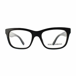 Dolce and Gabbana Eyeglasses Frames 3239 2998 Top Black Texture Tissue Womens 52
