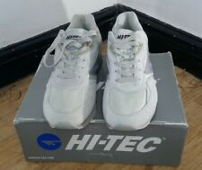 Original Hi-Tec Silver Shadow Suede Trainers ~ Size 10 uk NEW