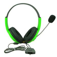 Wireless Gaming Headphones Headset W/ Mic For XBOX 360 PC Computer TV ABXY key