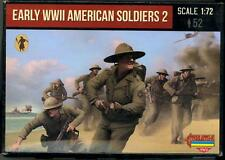 Strelets Models 1/72 EARLY WORLD WAR II AMERICAN SOLDIERS Figure Set Part 2