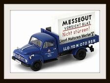 """wonderful pick-up truck BORGWARD B1500 """"LLOYD"""" 1955  -  darkblue  1/43 - ltd.333"""