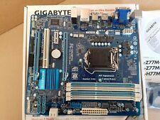 Gigabyte GA-H77M-D3H socket 1155 H77 chipset 4DDR3 USB3 6 SATA VGA DVi HDMI mATX