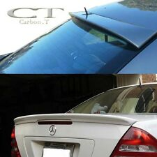 Painted MERCEDES BENZ  W203 Sedan Lorinser Type Roof Rear + AMG Trunk Spoiler