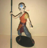 AVATAR the LAST AIRBENDER action figure AANG with STAFF toy Nickelodeon DST Ang