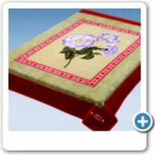 Solaron Blanket Thick Mink Plush King Original Korean Licensed throw flowers new