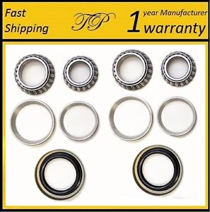 Front Wheel Bearing & Race & Seal Kit For 1988-1991 CHEVROLET C3500 (2WD 4WD)