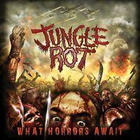 JUNGLE ROT - WHAT HORRORS AWAIT (REISSUE)   CD NEU