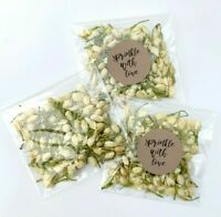 Ivory Jasmine Buds Petals Natural Biodegradable Wedding Confetti Dried PACKETS