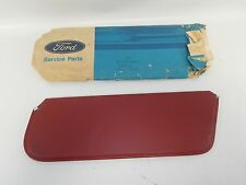New OEM 1983 & Up Ford Bronco Trunk Sun Visor Assembly Red Leather