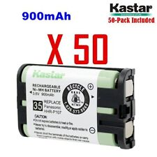 Kastar HHR-P107 ( 50 Pack) Cordless Phone Battery For Panasonic Type 35