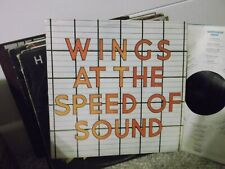 Paul McCartney & Wings At The Speed Of Sound 1976  SW11525 Capital records