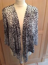 Viyella White & Black Cardigan/jacket UK Size Large BNWY