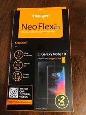 Authentic Galaxy Note 10 Spigen® Neo Flex HD Screen Protector (2Pack)