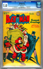BATMAN #27 CGC 1.0 FROM THE CERTIFIED PRIVATE COLLECTION OF JERRY ROBINSON 1945
