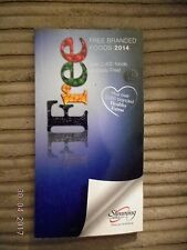 SLIMMING WORLD FREE BRANDED FOOD 2014 RED GREEN & EXTRA EASY SYNS EX CON