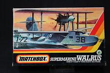 YM034 MATCHBOX 1/72 maquette avion 40105 Supermarine Walrus Mk.II