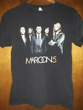 Maroon 5- Band Pic. Lic Oop Black T-Shirt- Small