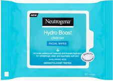 Neutrogena Hydro Boost Cleansing Facial Wipes (25)