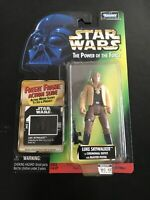 STAR WARS POTF (Freeze Frame) Luke Skywalker Ceremonial Outfit Gear 1997 HASBRO