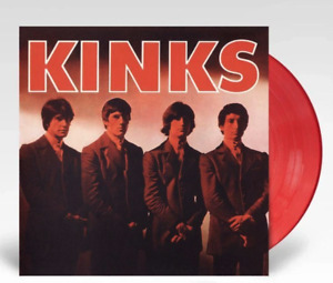The Kinks Kinks LP Coloured Red Vinyl Limited Edition New Sealed