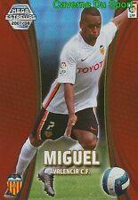 364 MIGUEL PORTUGAL VALENCIA.FC ESTRELLAS TARJETA CARD MGK LIGA 2008 PANINI
