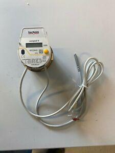 TECHEM Wärmemengenzähler Compact V, 1,5 m3/h Wärmezähler 00771110 NEU