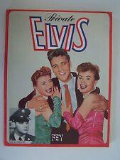 Army Private Elvis Paperback 1978 Diego Cortez German/English Edition Rare
