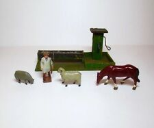 BRITAINS Lead Toy Soldier VINTAGE FARM SCENE AND FIGURES
